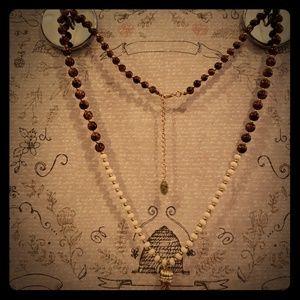 NWOT long tassel necklace